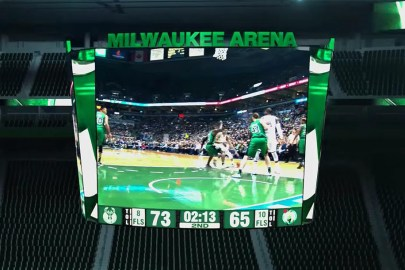 Milwaukee Bucks Will Have NBA's Largest Equilateral Centerhung Video Display By 2018