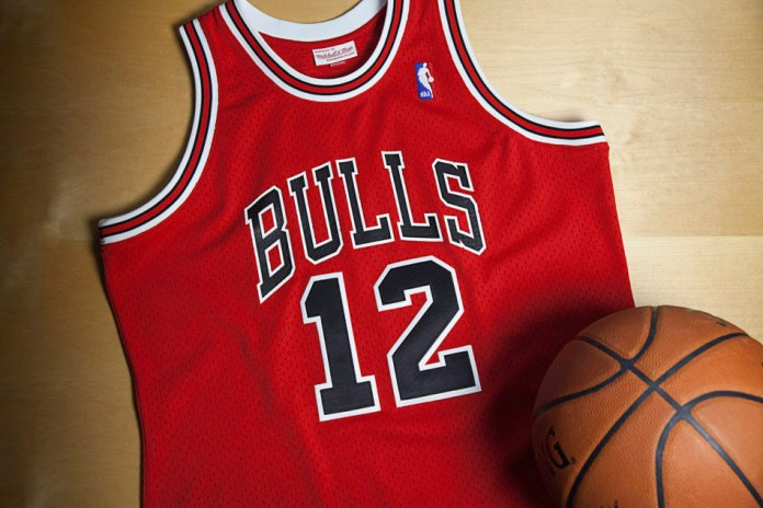 Mitchell & Ness Releases Michael Jordan's Rare #12 Jersey