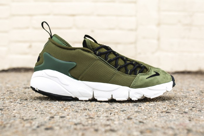 "Nike's ""Legion Green"" Colorway Comes to the Air Footscape NM"
