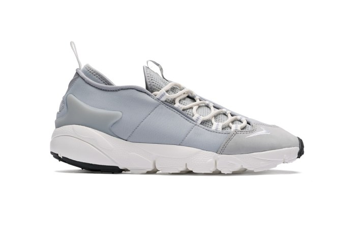 "Nike's Air Footscape NM Gets A ""Wolf Grey"" Colorway"