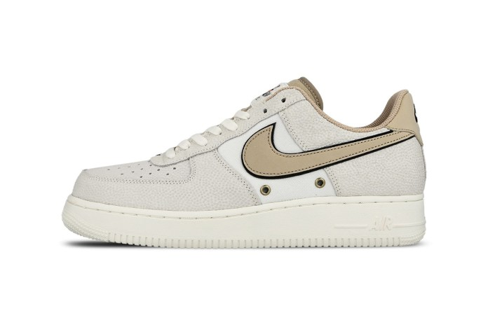 """Nike Gives the Air Force 1 A """"Crocskin"""" Makeover"""