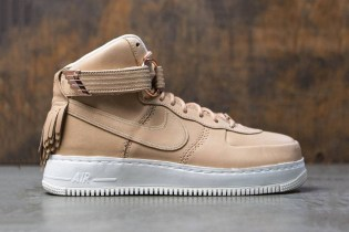 Nike's Air Force 1 Sport Lux Receives a Vachetta Tan Makeover
