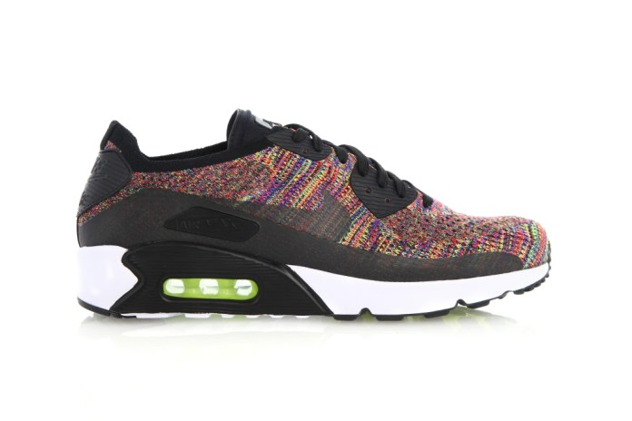 "The Nike Air Max 90 Flyknit Receives a Second ""Multi-Color"" Rendition"