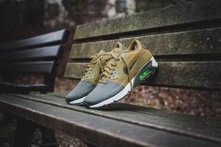 """""""Militia Green"""" Meets the Nike Air Max 90 Ultra 2.0 Silhouette"""