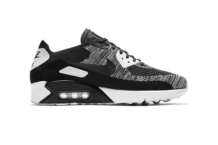 Nike Air Max 90 Ultra 2.0 Flyknit Is Set to Drop in Classic Black and White