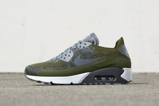 The Nike Air Max 90 Ultra Flyknit Gets a Throwback Olive Colorway