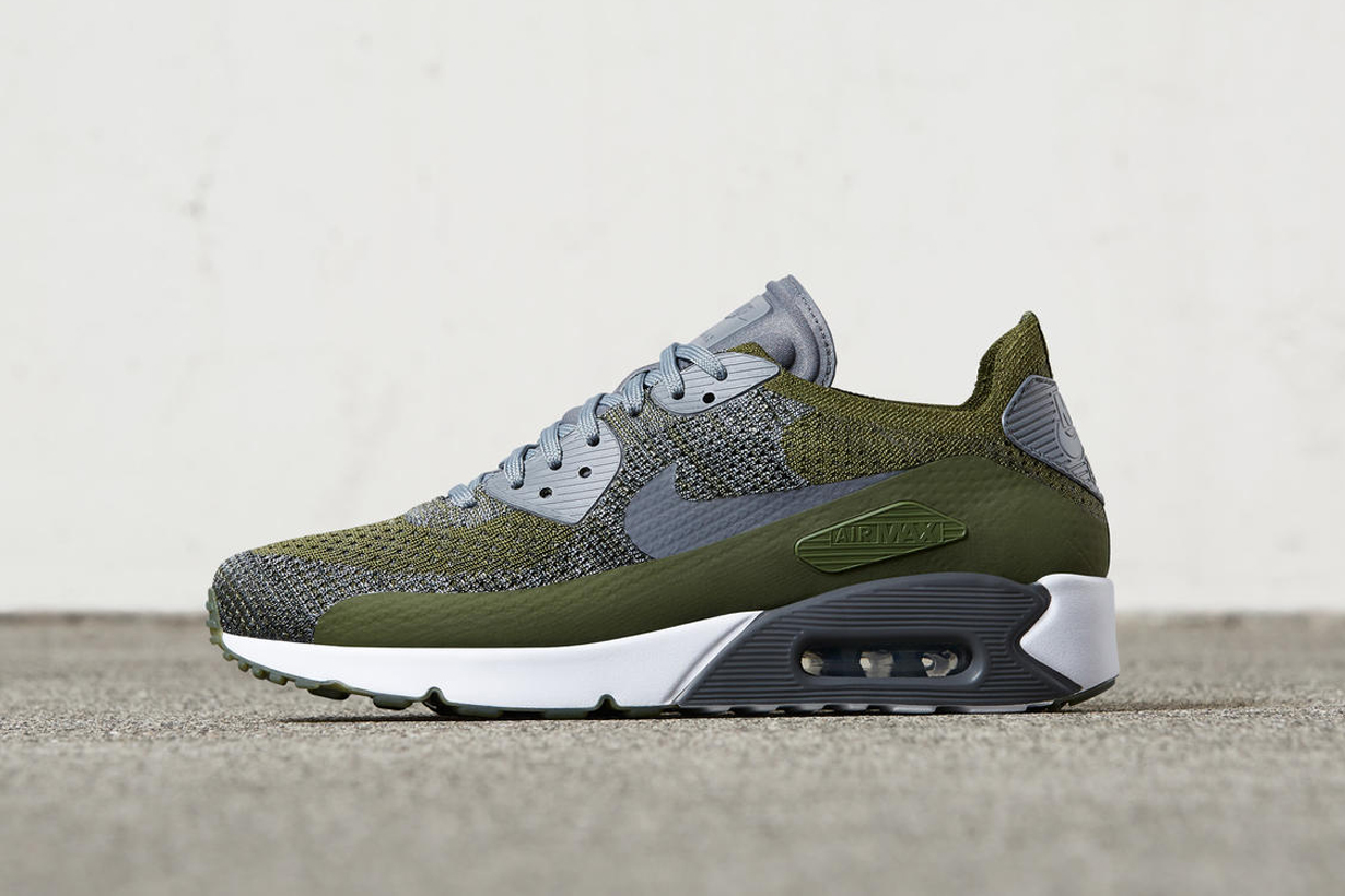 nike air max 90 ultra flyknit olive hypebeast. Black Bedroom Furniture Sets. Home Design Ideas