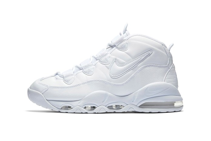 "Nike's Air Max Uptempo Set to Make a Clean Return In ""Triple White"""