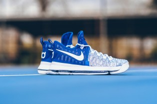 "The Nike KD 9 ""Game Royal"" Keeps It Clean for the Warriors' Home Court"