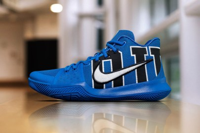 Nike's Kyrie 3 Feels the Blues With Special Duke PE