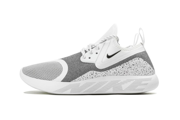 """Nike's LunarCharge Essentail Silhouette Dons a Crisp """"White Speckle"""" Colorway"""