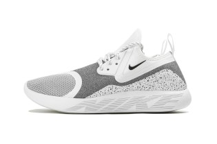 "Nike's LunarCharge Essentail Silhouette Dons a Crisp ""White Speckle"" Colorway"