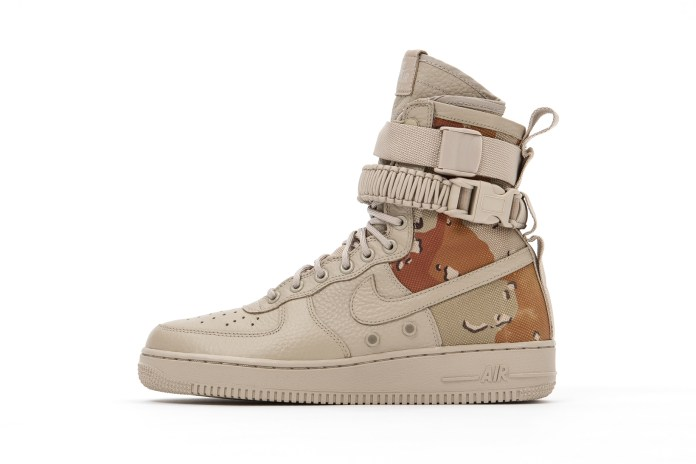 "Here's a Preview of the Upcoming Nike Special Field Air Force 1 ""Desert Camo"""