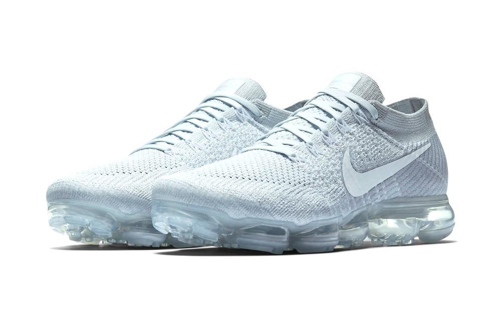 Nike Vapormax Flyknit Quot Pure Platinum Quot Hypebeast