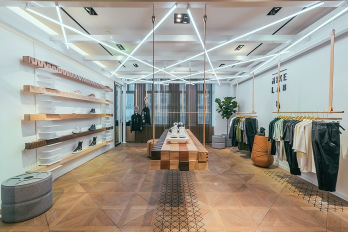 A Look Inside Bergdorf Goodman's NikeLab Shop-In-Shop