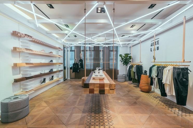 A Look Inside Bergdorf Goodman's NikeLab Shop-In-Shop