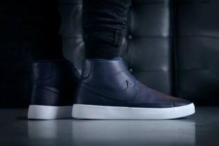 "The NikeLab Blazer Advanced Receives An ""Obsidian"" Colorway"