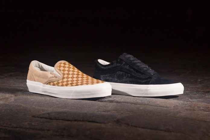 Vans Celebrates OFFSPRING's 20-Year Anniversary With a Pony Hair Pack