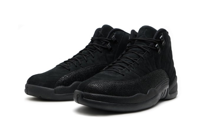 "Here's Your Chance to Purchase the OVO x Air Jordan 12 ""Black"""