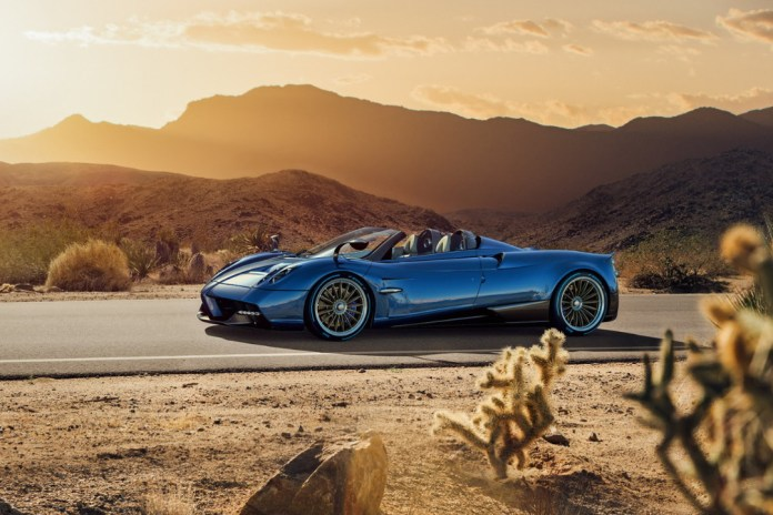 Pagani Has Finally Unveiled the Huayra Roadster