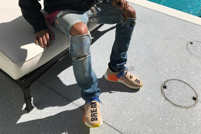 Pharrell Williams Debuts a Bold New Hu NMD Colorway