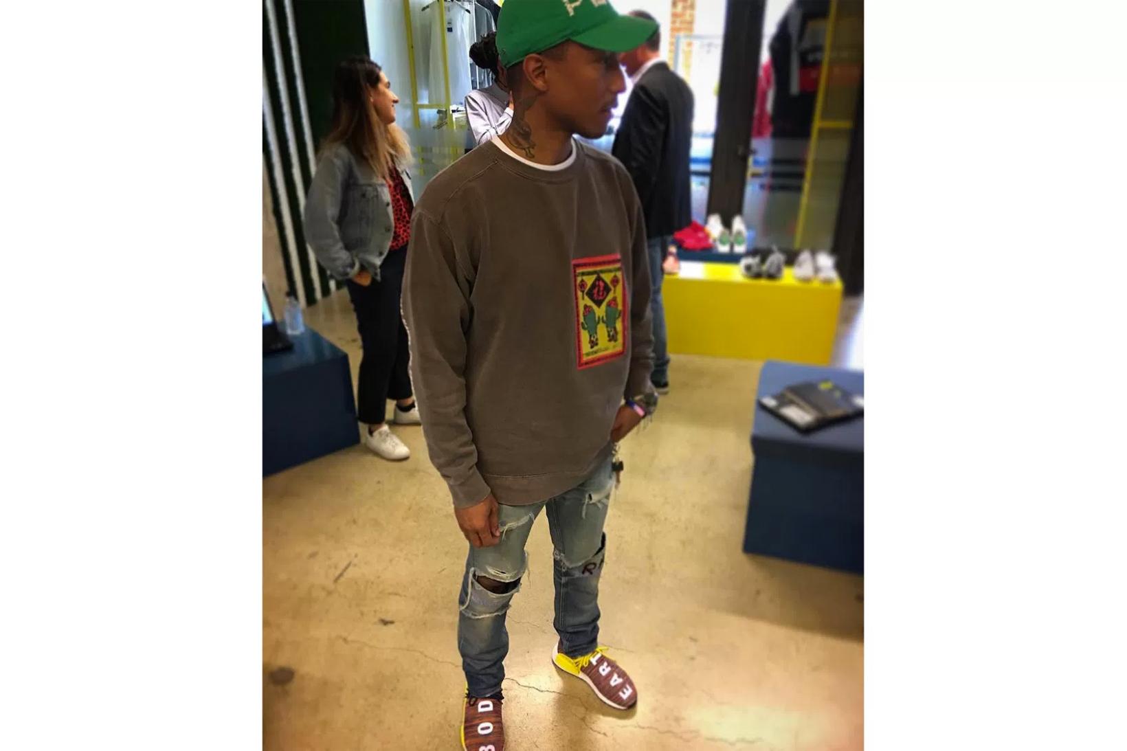 Pharrell Williams Debuts New Multicolor adidas Originals ...