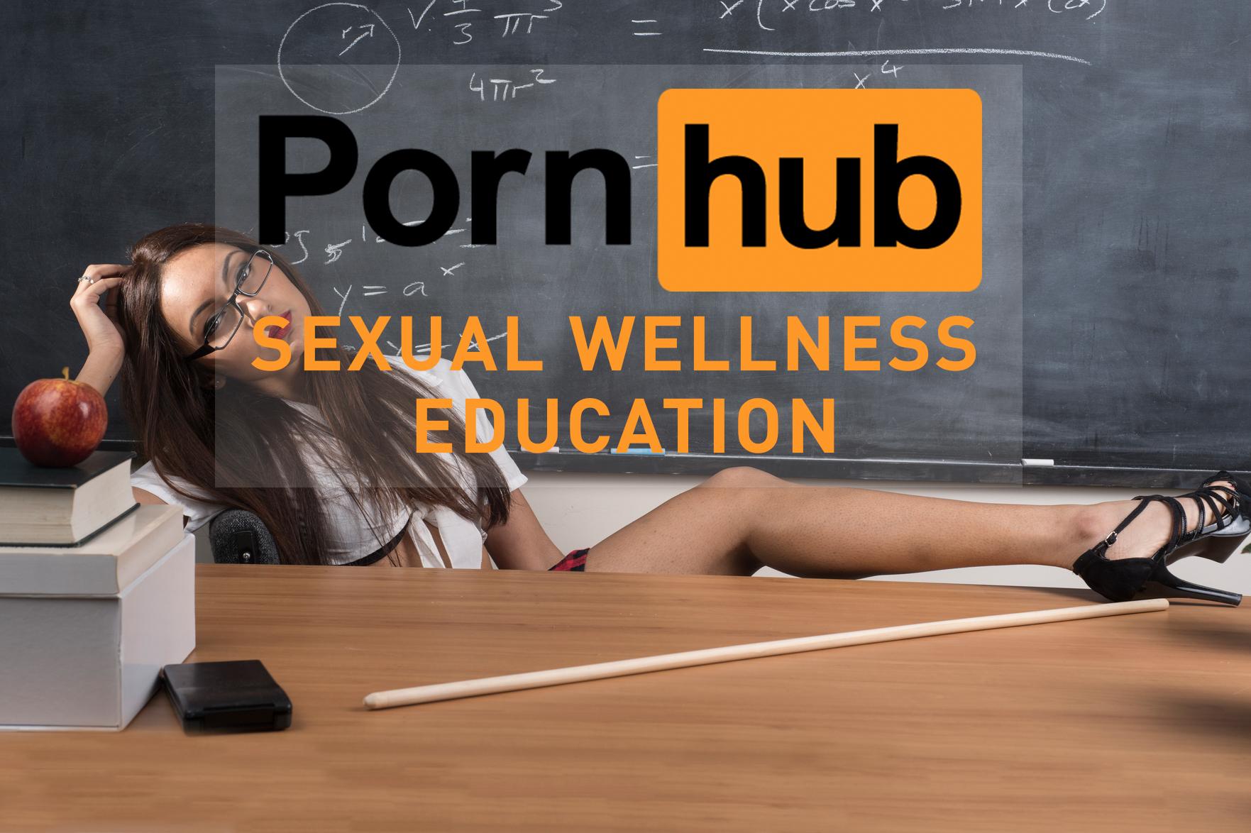 Pornhub lanza plataforma de educación sexual Sexual Wellness Center
