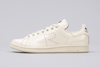 A Look at the Raf Simons x adidas Originals Stan Smith RS in Cream