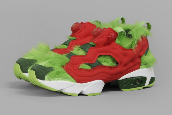 Reebok Releases a Pair of Furry Instapump Fury Sneakers