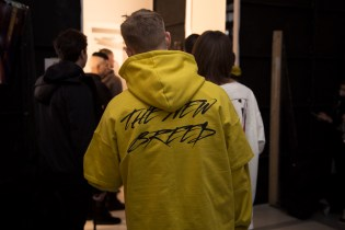 """Backstage at Represent's """"The New Breed"""" 2017 Fall/Winter Show"""