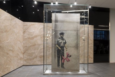 Here's What It Took to Restore a Banksy Piece in Toronto