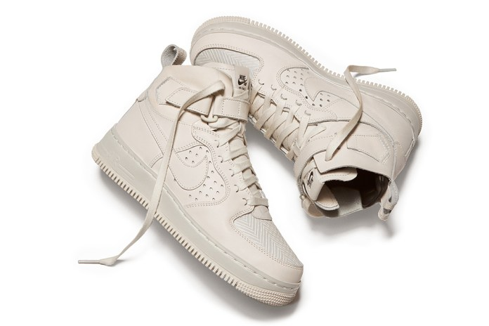 Here's the NikeLab Air Force 1 Tech Craft CMFT Unveiled During Rochambeau's Show