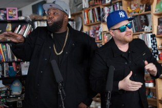 Watch Run The Jewels' 'Tiny Desk Concert' for NPR