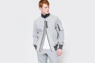 sacai's Hickory Stripe Blouson Is a New Take on the Classic Bomber