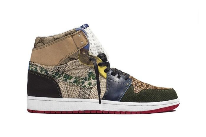 "The Shoe Surgeon Unveils the Air Jordan 1 ""What the Scrap"" Custom"