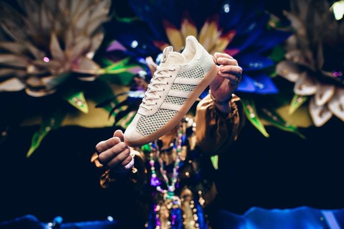 Sneaker Politics & adidas Consortium Celebrate Mardi Gras With a Primeknit-Constructed Gazelle