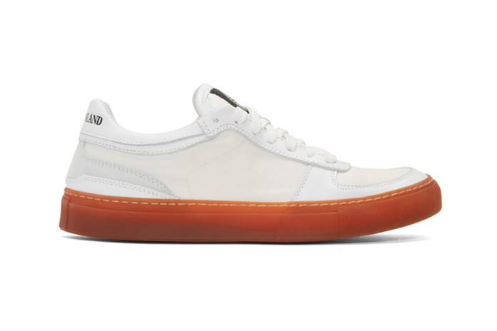 Stone Island Ditches the Dye for These Super Clean Kicks