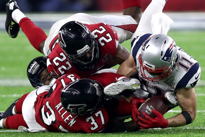 Super Bowl LI Mic'd Up: Listen to the Players React to Edelman's Catch and More