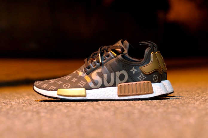 Here's What a Supreme x Louis Vuitton x adidas NMD R1 Collaboration Might Look Like