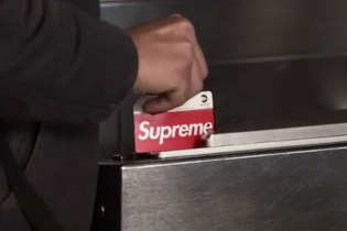 Supreme's New Teaser Video Shows Its Upcoming Branded Subway MetroCard in Action