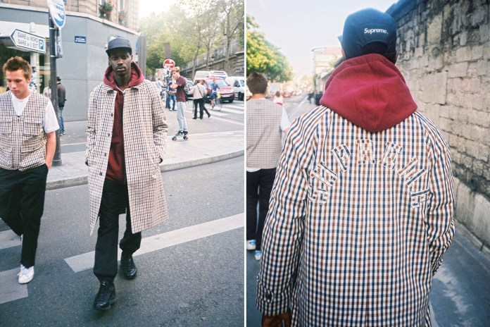 Here's How the Supreme x Aquascutum Collaboration Nearly Didn't Happen
