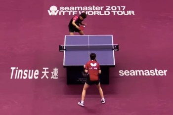 This 10-Minute, 766-Shot, Record-Setting Table Tennis Rally Ended Very Disappointingly