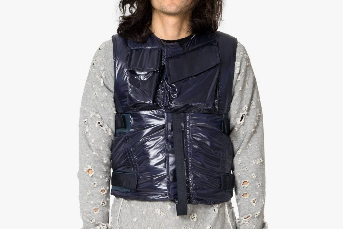 TAKAHIROMIYASHITA the SoloIst. Reappropriates Bullet Proof Vests