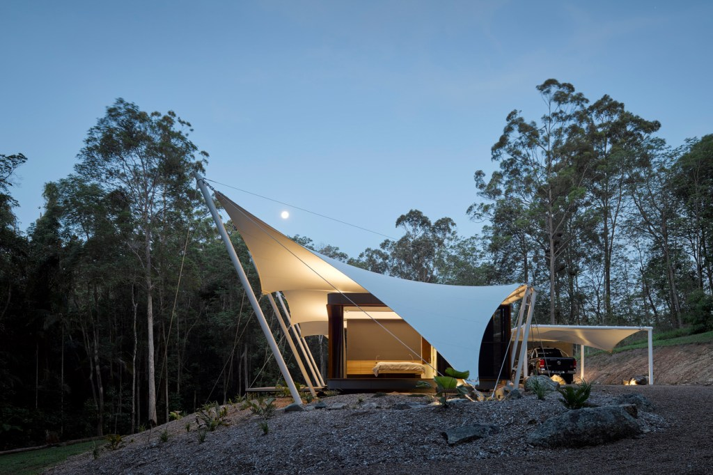 Tent House Built In Australia For Year Round Camping Fun
