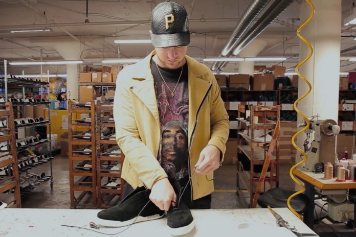 A Closer Look at How John Geiger's Breakthrough 001 Shoe Is Made