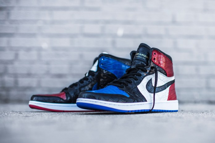 The Shoe Surgeon Upgrades the Air Jordan 1 With Crocodile and Snakeskin