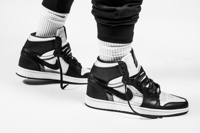 The Shoe Surgeon Gives the Air Jordan 1 a COMME des GARÇONS Treatment