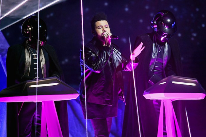 Watch The Weeknd & Daft Punk Perform at the 2017 GRAMMYs