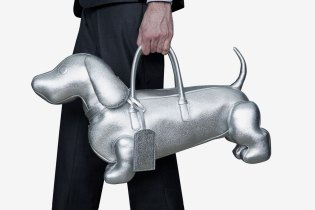 THOM BROWNE and Dover Street Market Collaborate on New Silver-Hued Accessories