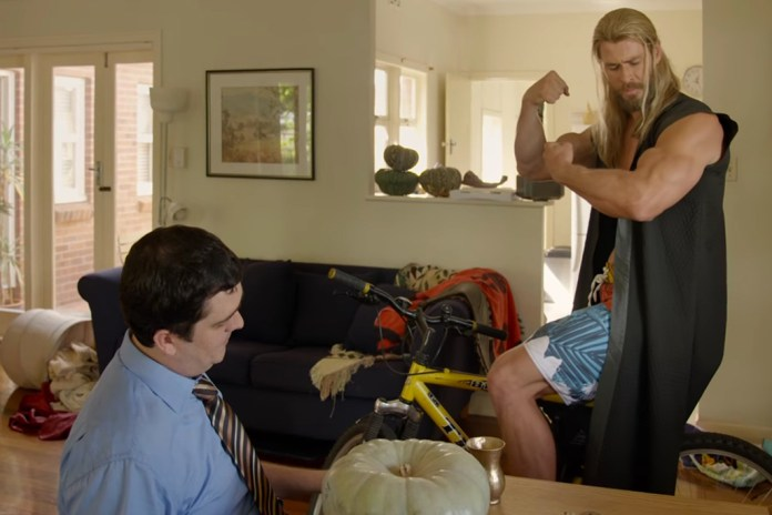 Thor and His Roommate Darryl Struggle to Make Rent